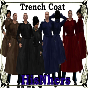 [RPC] HisNhers ~ Trench Coat Poster