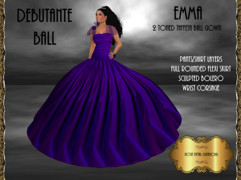 [RPC] Emma Ballgown in Blue
