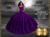 [RPC] Emma Ballgown in Purple
