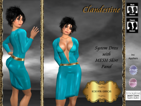 [RPC] Clandestine in Cyan